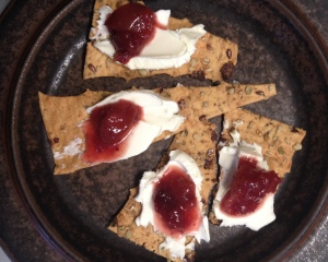 apple cran crackers