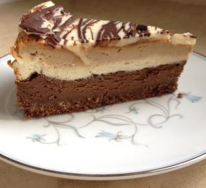cheesecake cut