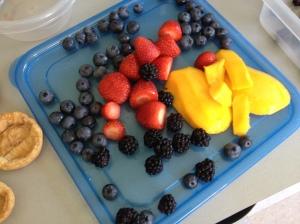 fruit tarts fruit